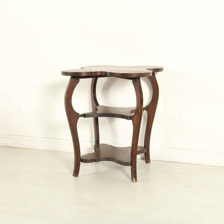 Vintage Quatrefoil Table via Craigslist San Francisco www ...