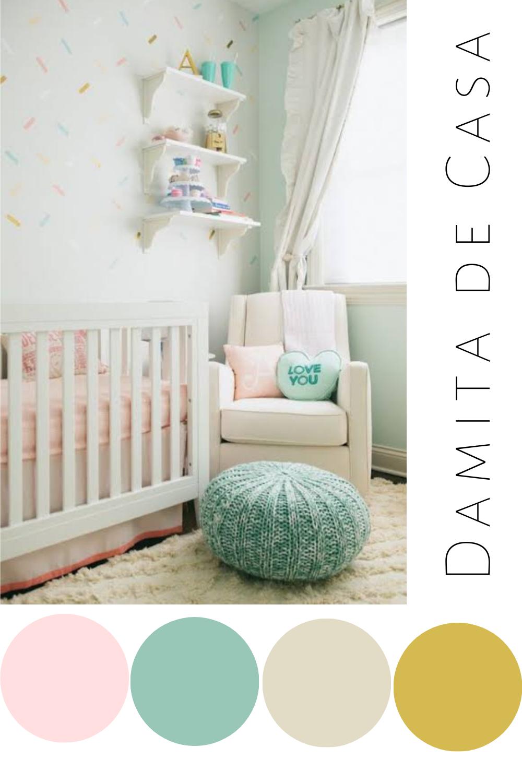 Visita El Link Para Disenar El Cuarto De Tu Bebe Con Estos Hermosos A Paletas De Colores Para Dormitorio Cuartos De Bebe Amarillos Diseno De Habitacion De Bebe