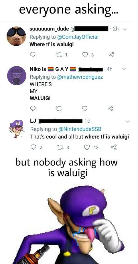 Pin De Marceloco En Waluigi Only Memes Memes Chistosisimos Y