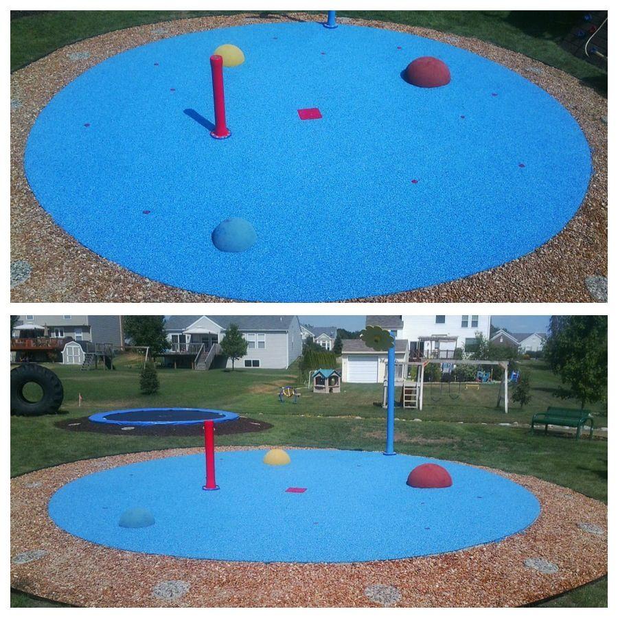 my splash pad caledonia mi installation this residential splash