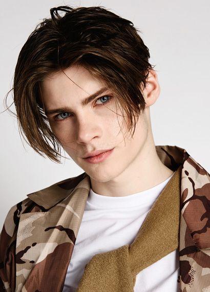 Fabian Gray Long Haired Men In 2019 Long Hair Styles