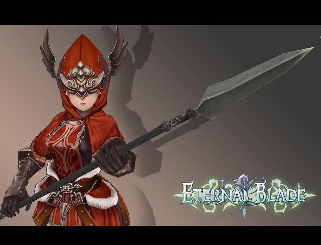 Eternal Blade - Low Poly