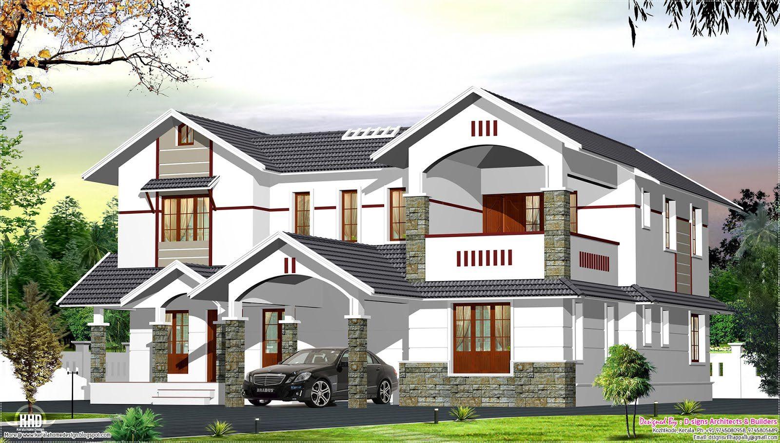 Image Result For Parking Roof Design In Single Floor Kerala House