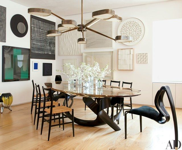36 Of The Best Dining Rooms Of 2016  Manhattan Chandeliers And Interesting 36 Dining Room Table Inspiration Design