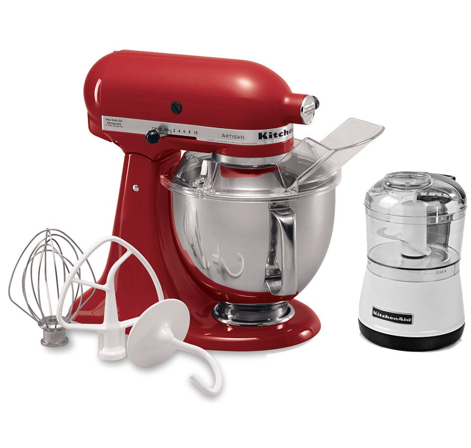 kitchenaid mini mixer empire red