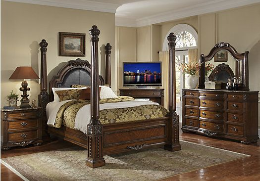 Rooms To Go Bedroom Sets Queen shop for a worthington poster 5 pc queen bedroom at rooms to go