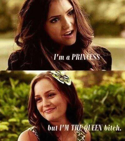 ... but I'm THE QUEEN, bitch!