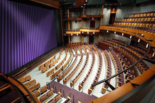 Pin By Franchesca Granaze On Theater Design Theatre Design Design Basketball Court