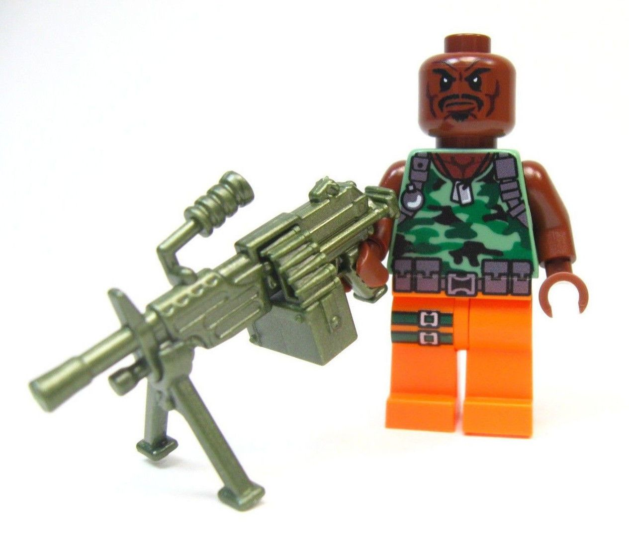 Lego GI Joe Custom - - - - - - ROADBLOCK - - - - Snake eyes Storm ...