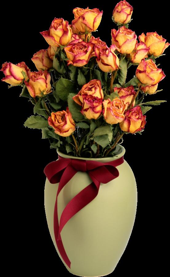Forgetmenot Vases In 2020 Orange Roses Container Flowers Rose