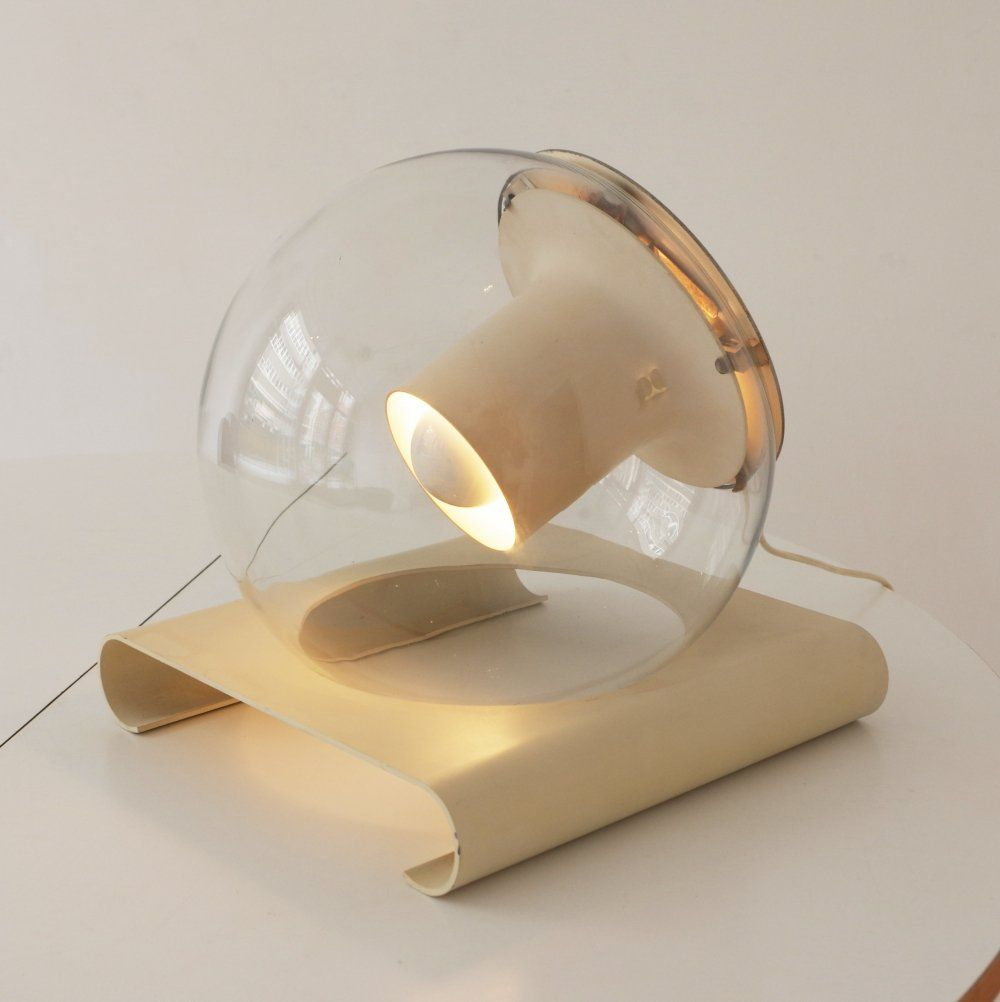 For Sale Super Rare Joe Colombo Aton Lamp 1st Production Made By Oluce Luminaire Lumiere Design