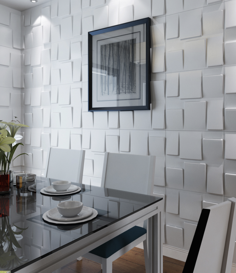 Manufacturer Art3d. Architectural 3D wall panel style