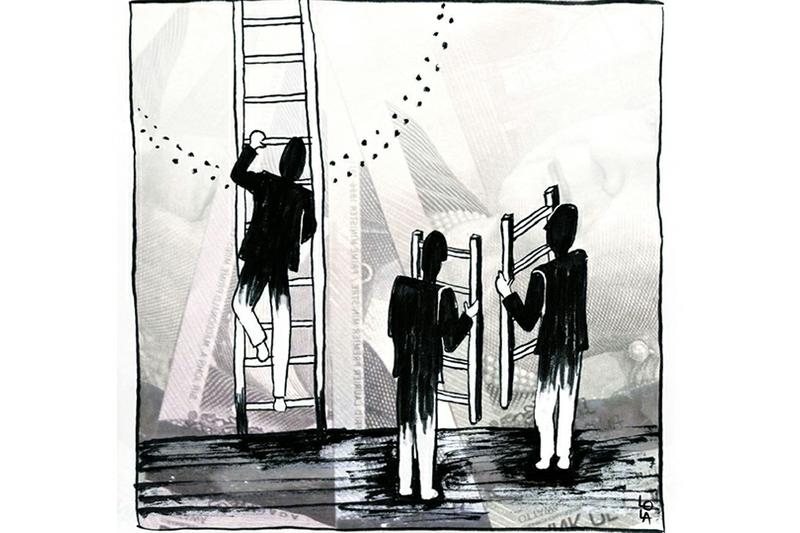 دراسة بريطانية حديثة عدم المساواة فى العمل يؤدى الى تراجع آداء الموظفين Abstract Artwork Artwork Abstract