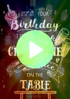 write Birthday happy write Birthday happy write Birthday 399 GBP  Birthday Cake  Prosecco Handmade Embellished Greeting Card By Talking Pictures  Garden Happy birthday Gr...