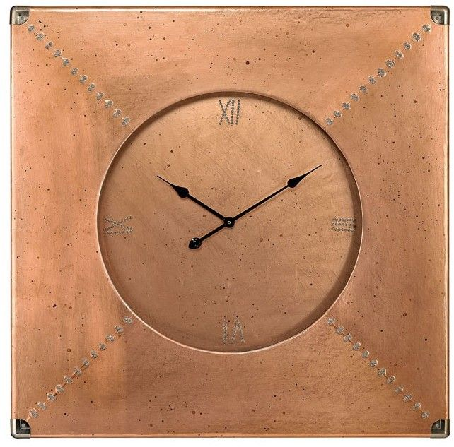 Solice Copper Clock