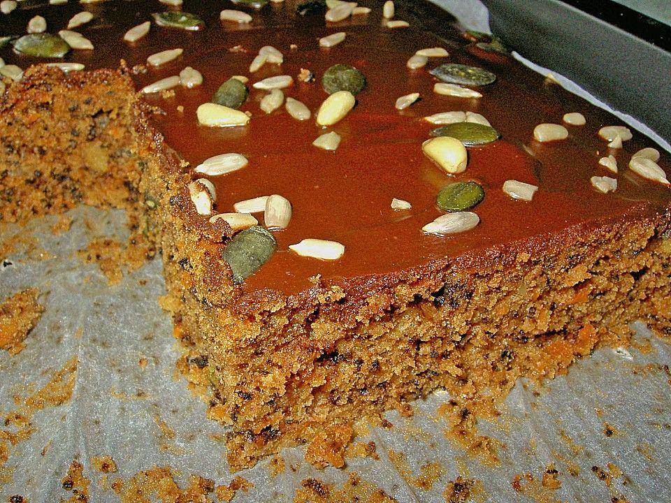 Zucchini Karotten Kuchen Mit Pinienkernen Von Stanze Chefkoch Rezept Karotten Kuchen Zucchini Kuchen Schokoladen Zucchini Kuchen