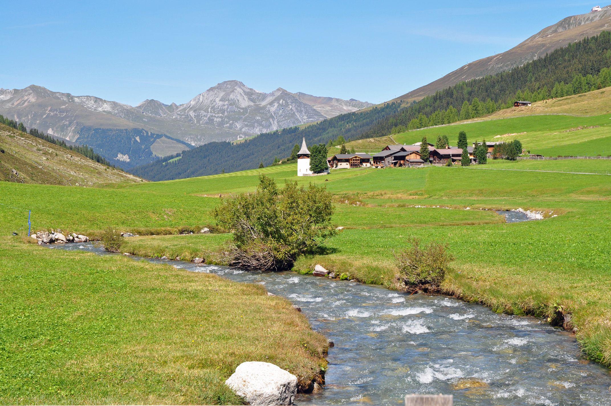 Sertig Dörfli (Kanton Graubünden) Graubünden