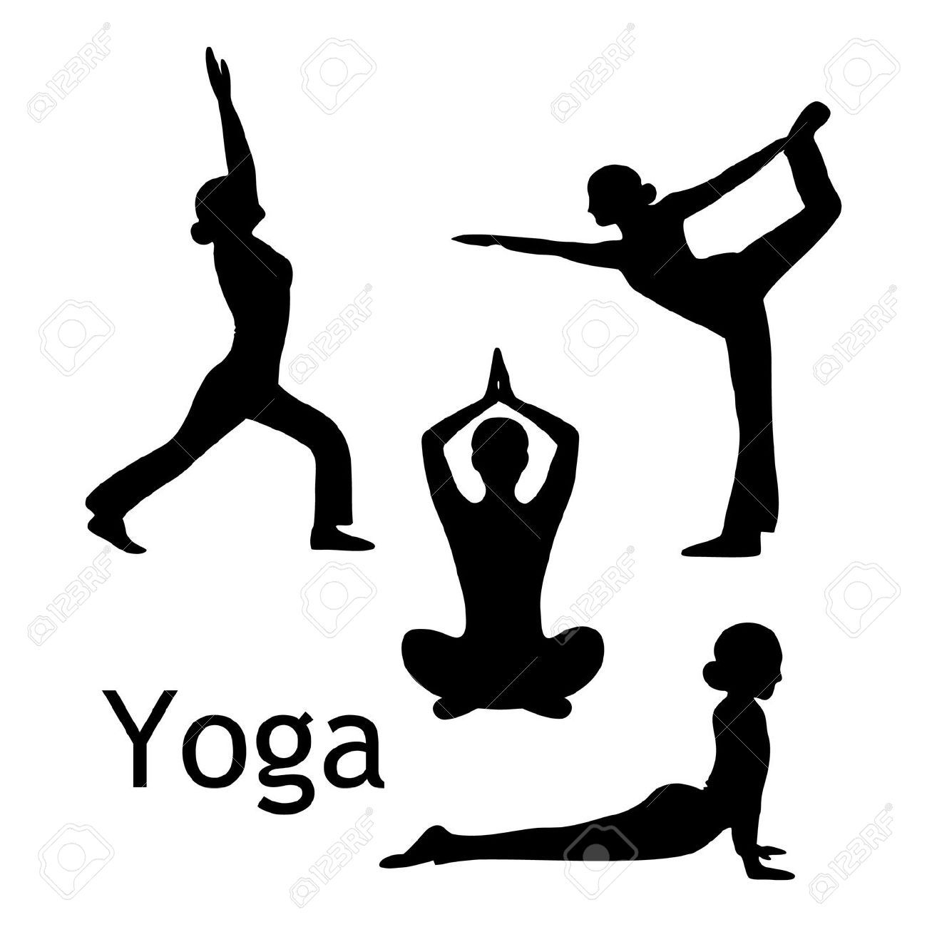 Yoga Pose Clipart 1 Meditation Poses Poses Free Meditation