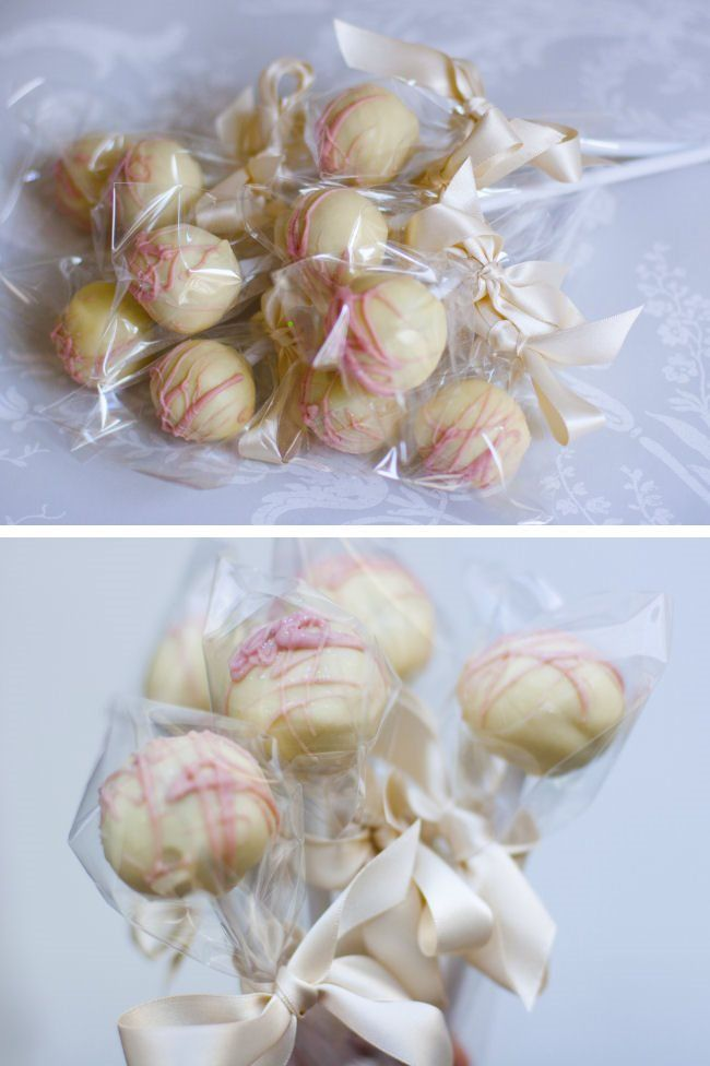 Edible Wedding Favour Ideas; Cake Pops