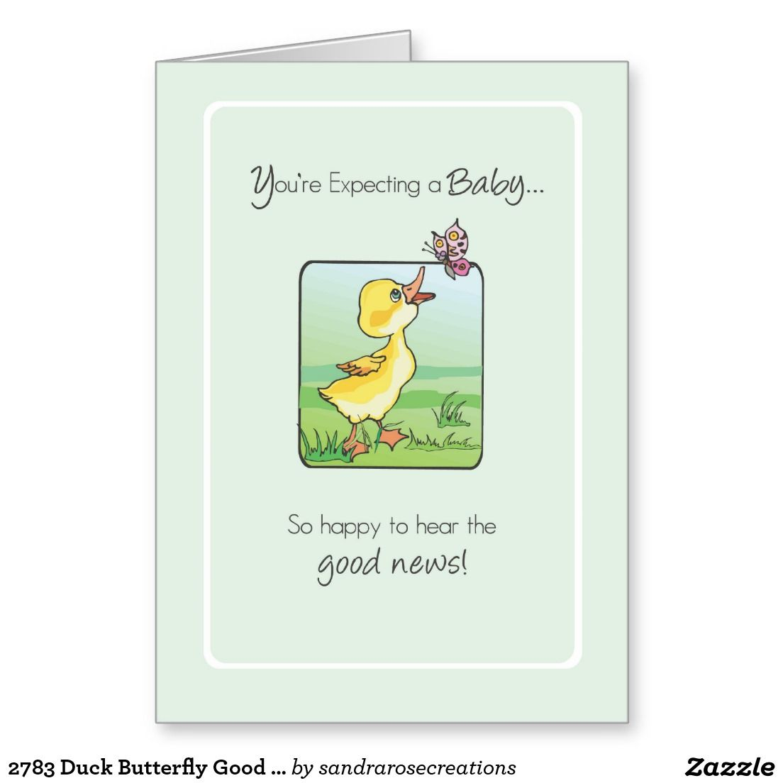 2783 duck butterfly good news expecting baby greeting card baby 2783 duck butterfly good news expecting baby greeting card kristyandbryce Images