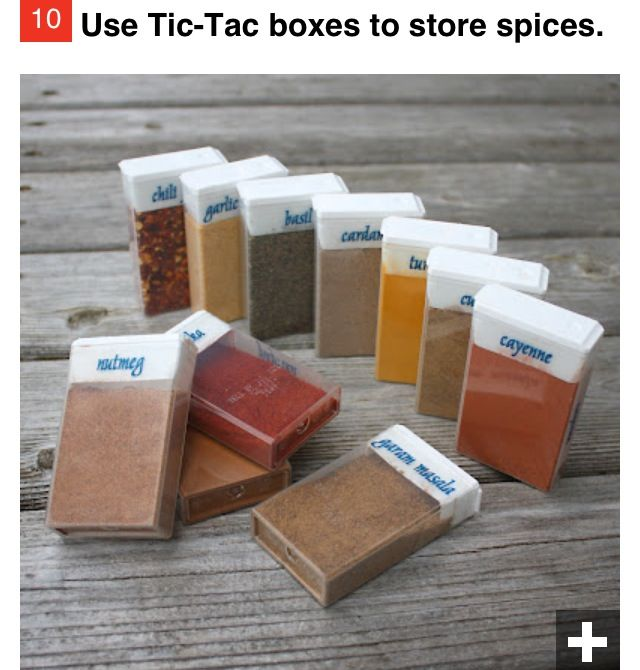For longer camping trips upgrade from straws to tic tac containers for spices.