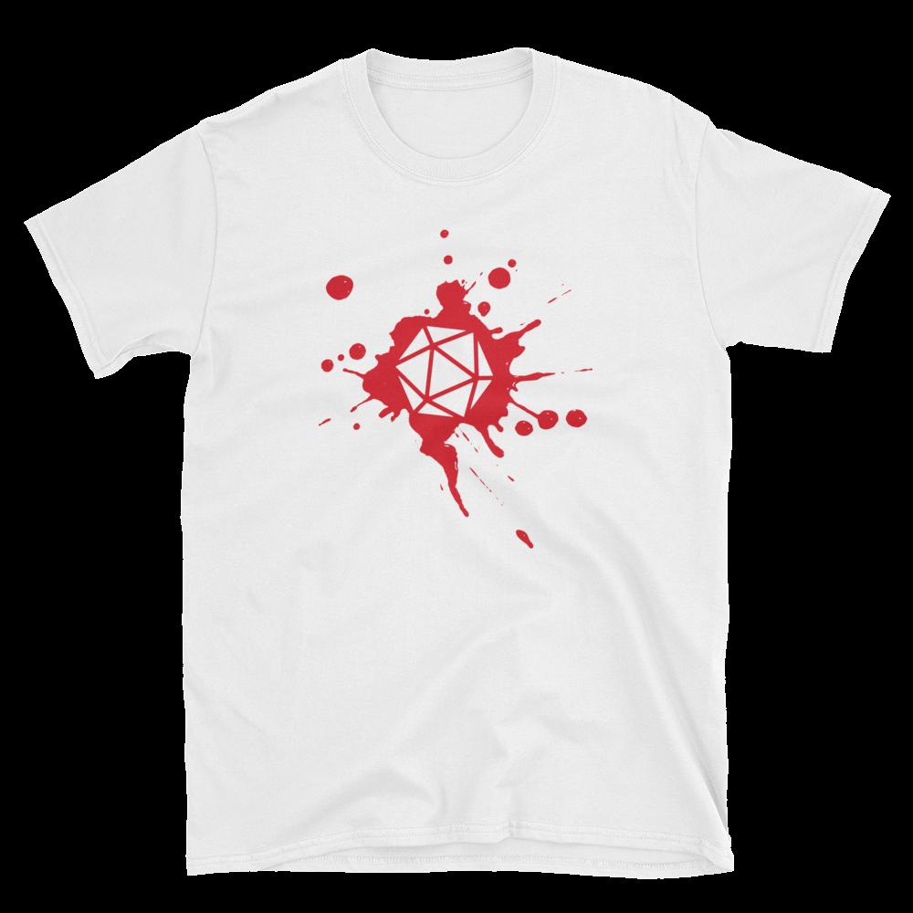 5dbf6123a Dungeons and Dragons Shirt - D20 Dice Paint Splatter Unisex RPG Shirt - DnD  Shirts Dungeon Armory