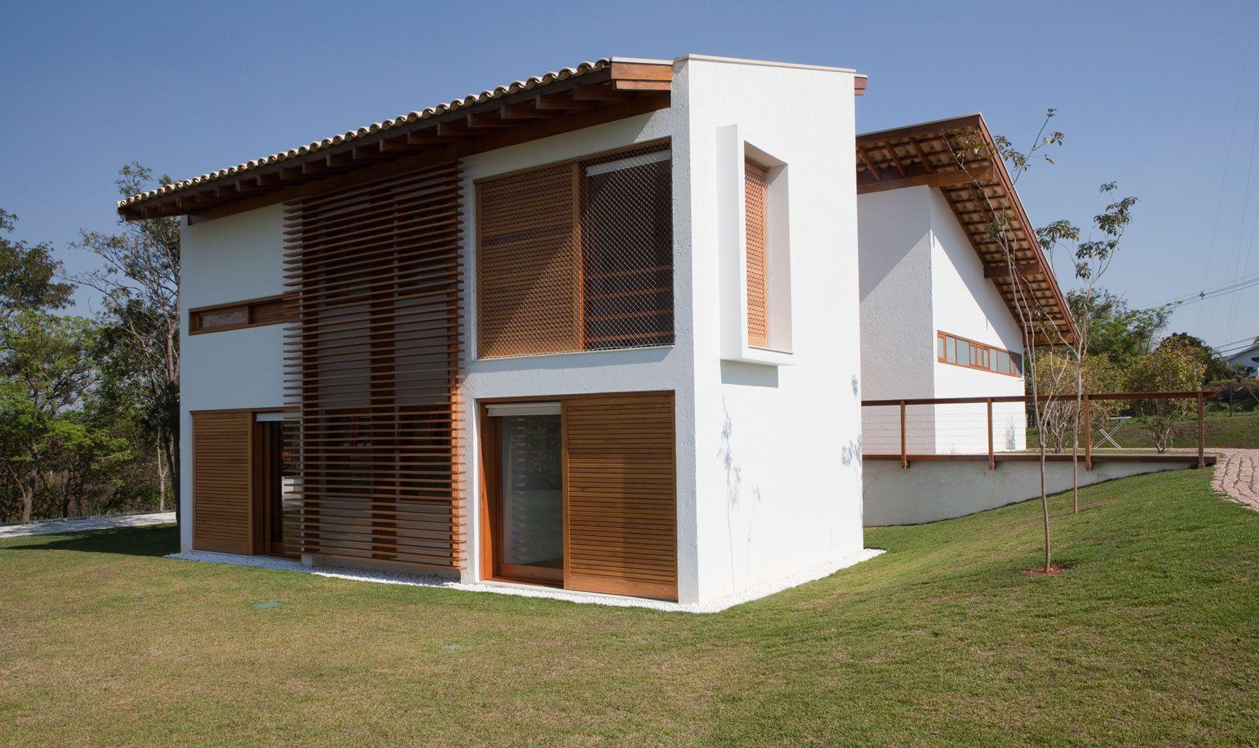 Dise o de casa de campo de madera y hormig n ideas finca pinterest casas de campo casas y - Diseno casas de campo ...