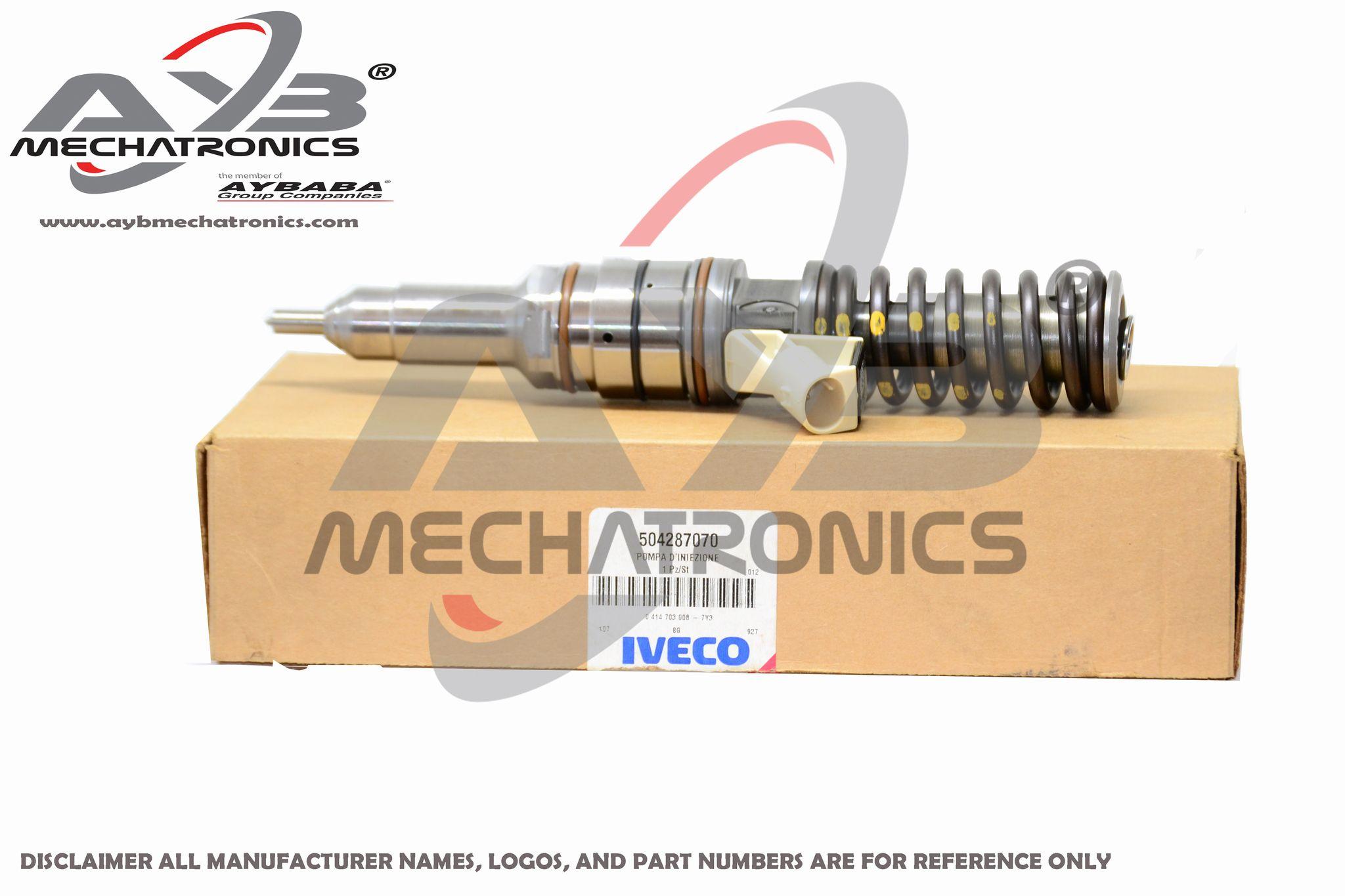 0414703008 504287070 504080487 504125329 iveco diesel fuel injector