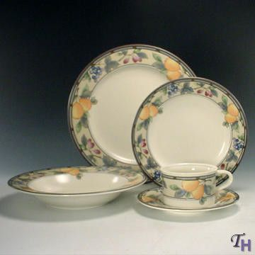 mikasa garden harvest. Mikasa Garden Harvest 5 Piece Place Setting