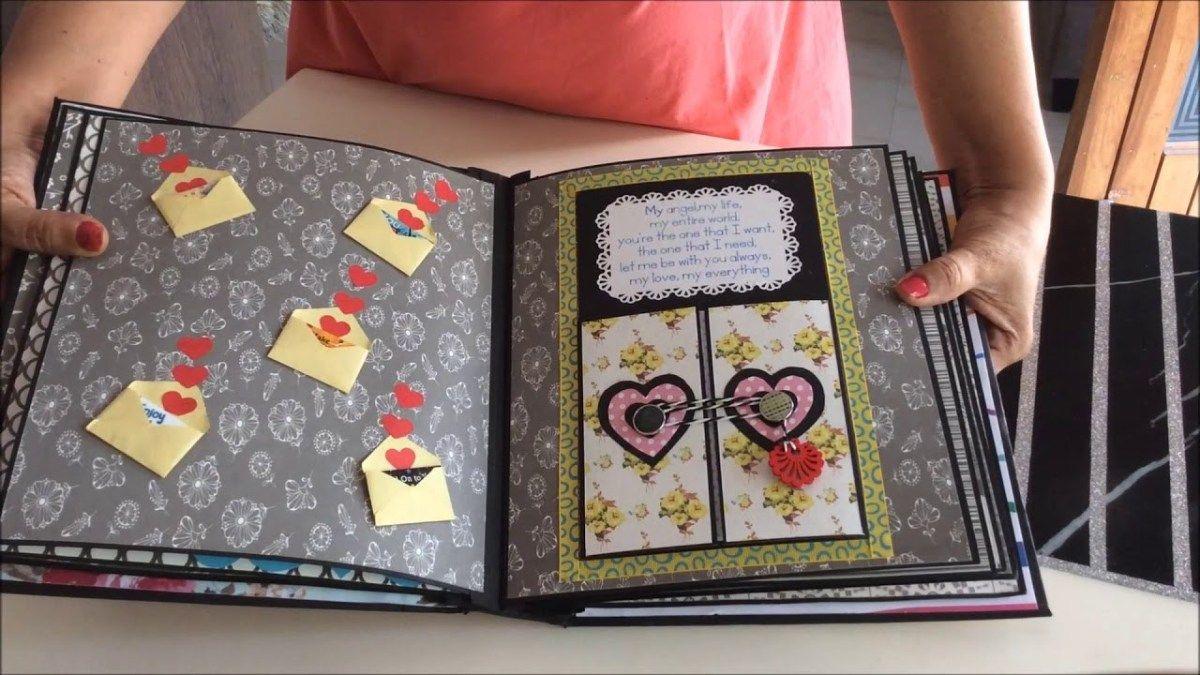 Creative Scrapbook Ideas Diy Diy Cutest Birthday Scrapbook
