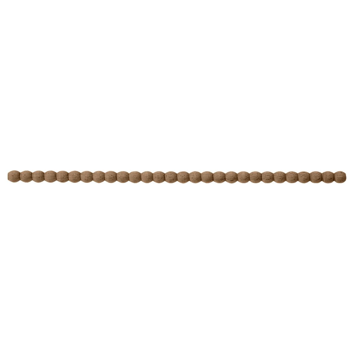 3 16 Inch D Half Round Pearl Beading Moulding 3 Stick Beech Pearl Beads Wood Beads Wood Mouldings
