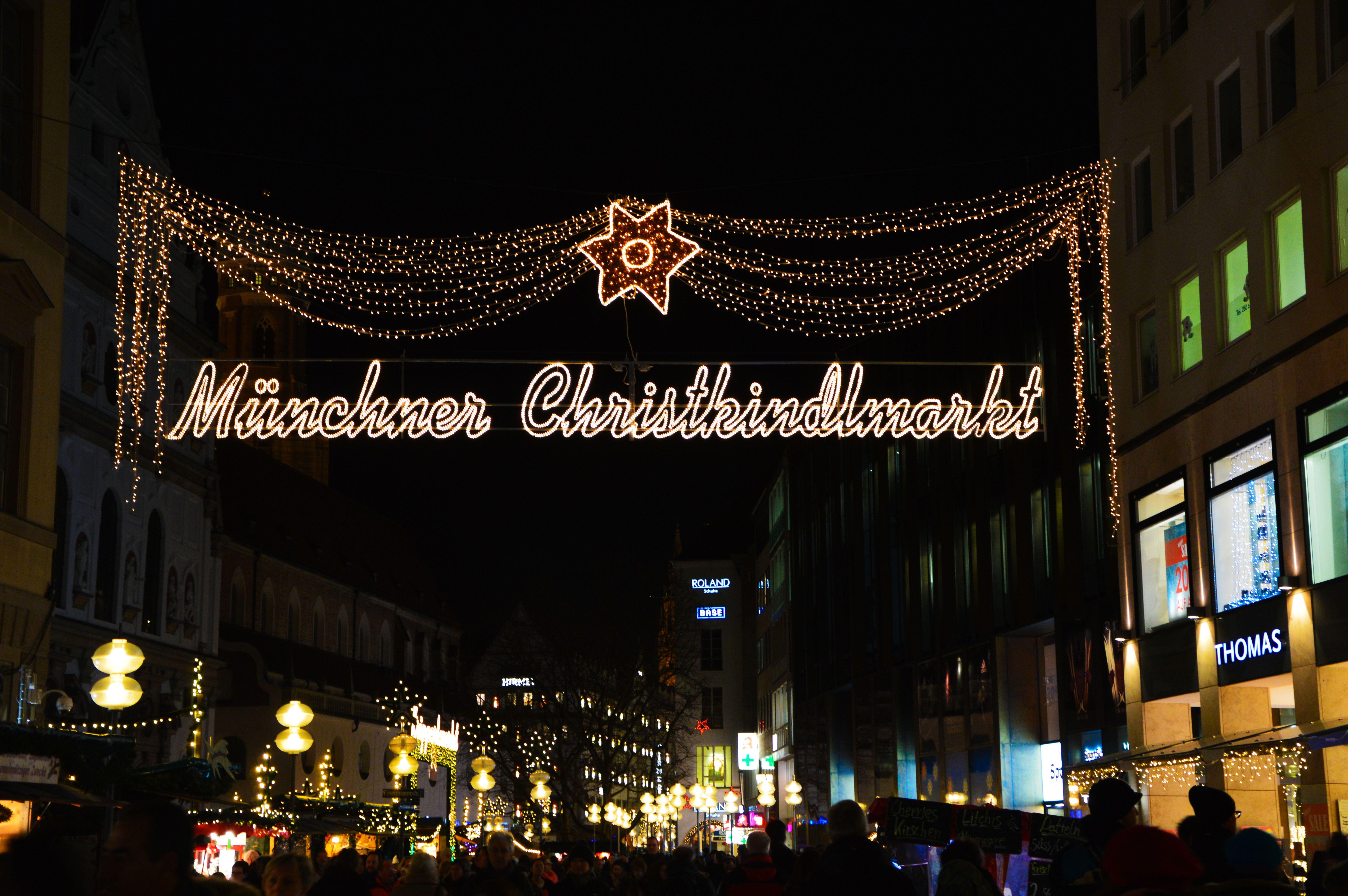 Mercado Navidad Múnich