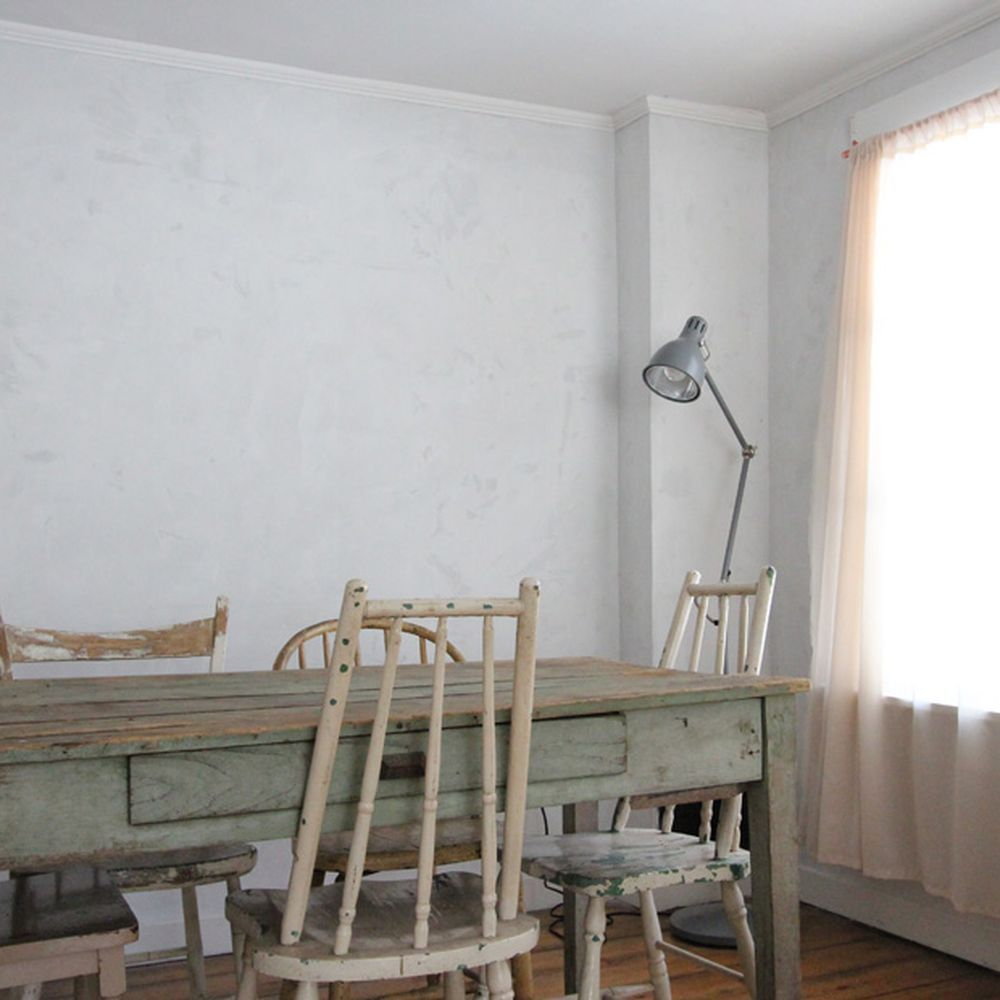 Antique Your Walls Using Plaster of Paris (It\'s Back!) | Walls and ...