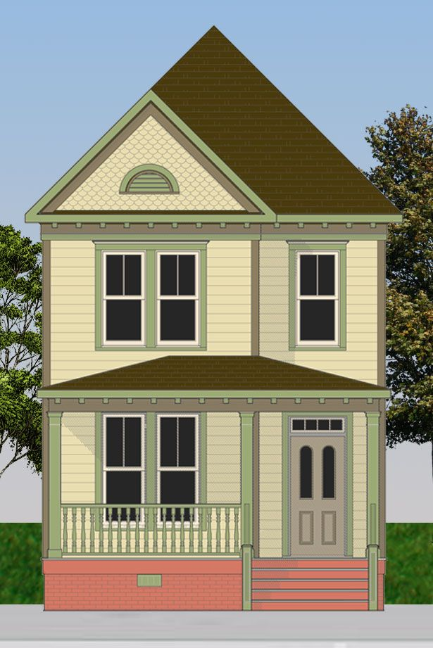 Painted Lady Victorian Lorainne Is Ideal For Urban Infill