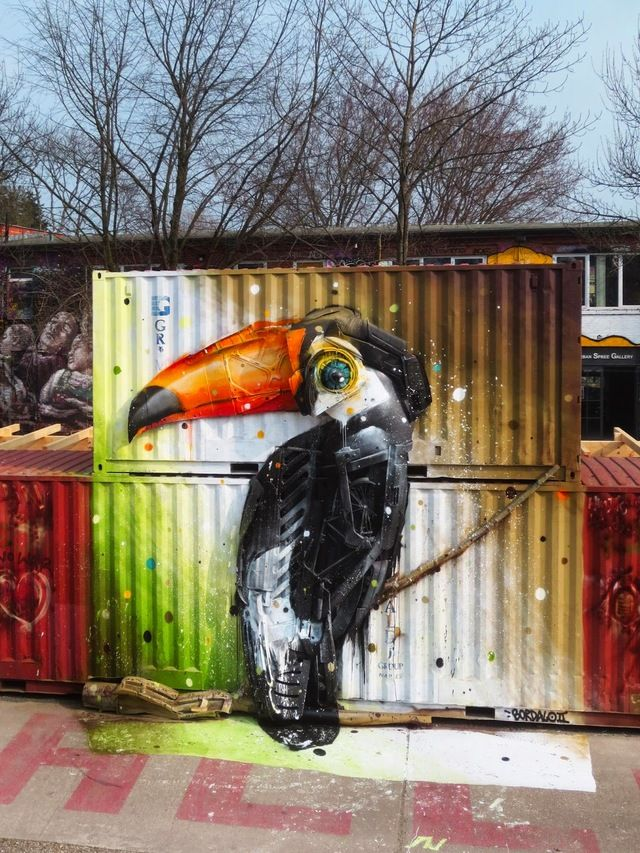 Portuguese street artist transforms trash into giant 3D animal portraits | Designwrld