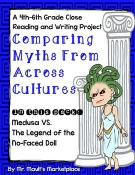 Greek Mythology and Native American legends may seem like the two very different genres, with little to no similarities, but you'd be wrong!  This project asks students to compare myths and legends from two very different cultures, finding both the similarities and differences.