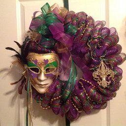 Mardi Gras Masquerade Full Venetian Female Mask Mardi Gras Masquerade Female Mask