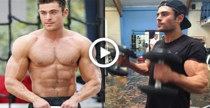 Zac Efron - Posing and Training 2018 #fitness