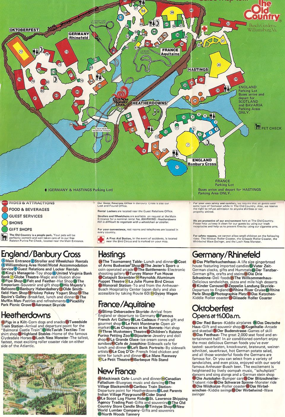 Busch Gardens   The Old Country   1978