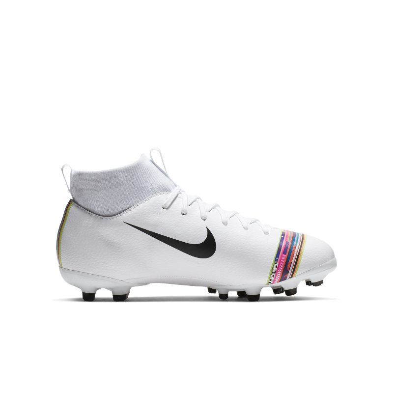 42d3f580b7e47 Nike Jr. Superfly 6 Academy MG Younger/Older Kids' Multi-Ground Football  Boot - White
