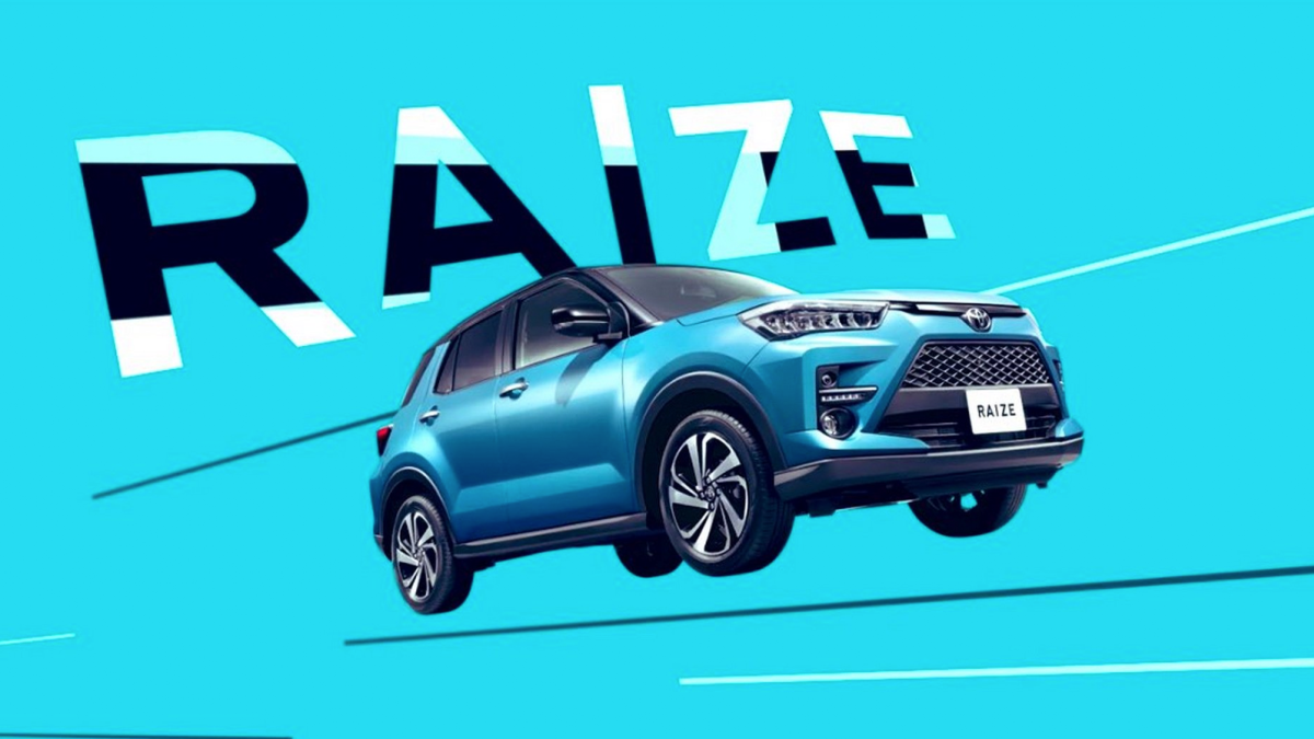 Toyota S Little Brother To The Rav4 Has A Funny Name Compact Suv