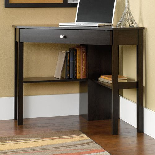 Found It At Wayfair Gerardo Corner Computer Desk With Keyboard Tray Diy Corner Desk Small Corner Desk Corner Writing Desk