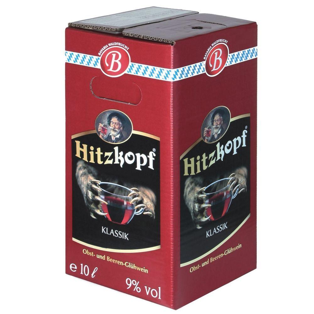 Hitzkopf Glühwein Klassik BIB 10 Liter Obst- und Beeren