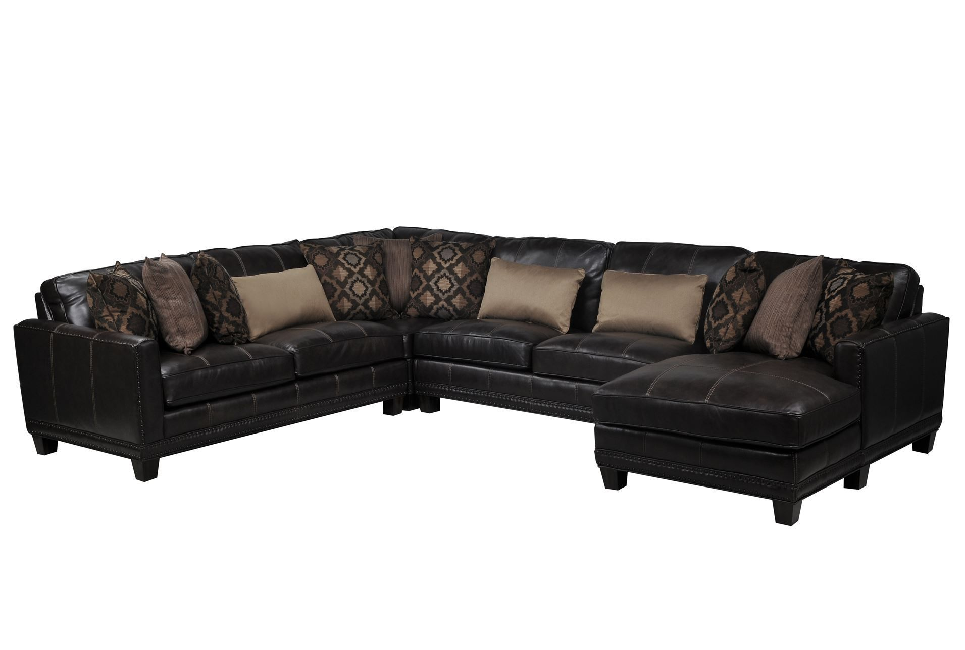 Best Barnaby 4 Piece Sectional W Raf Chaise Sectional Living 400 x 300