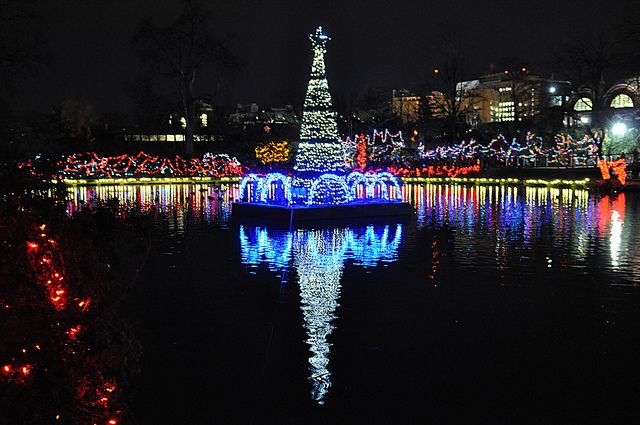 Shimmer On The Water Events Festival Lights Ohio Is For