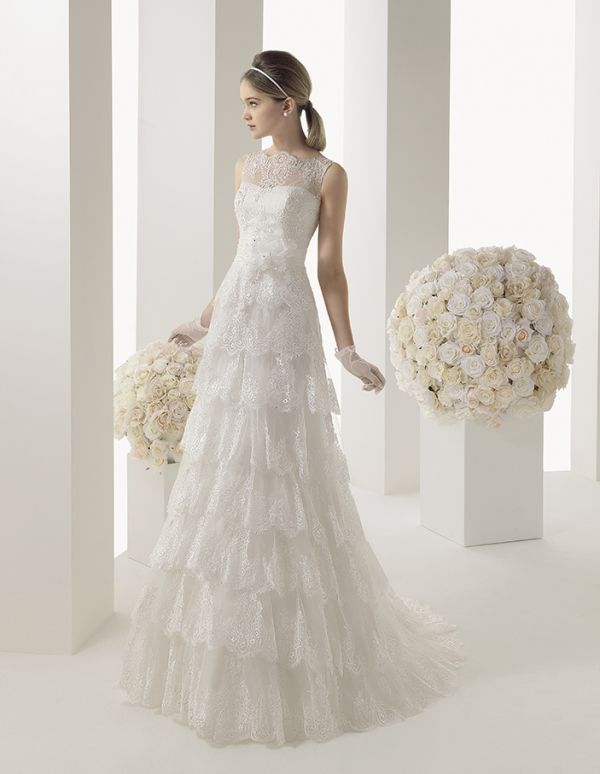 168 Mirlo Two by Rosa Clará 2014 | Inspirations | Bride & Groom ...