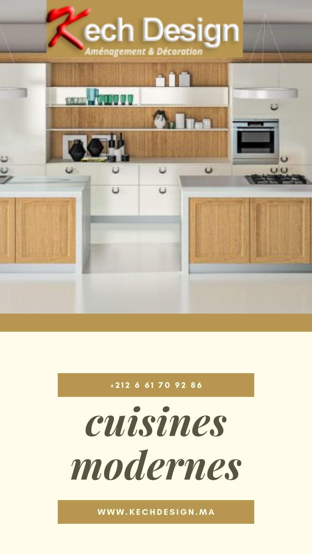 Cuisine Moderne Sur Mesure Cuisine Moderne Decoration Interieure Decoration De Cuisine