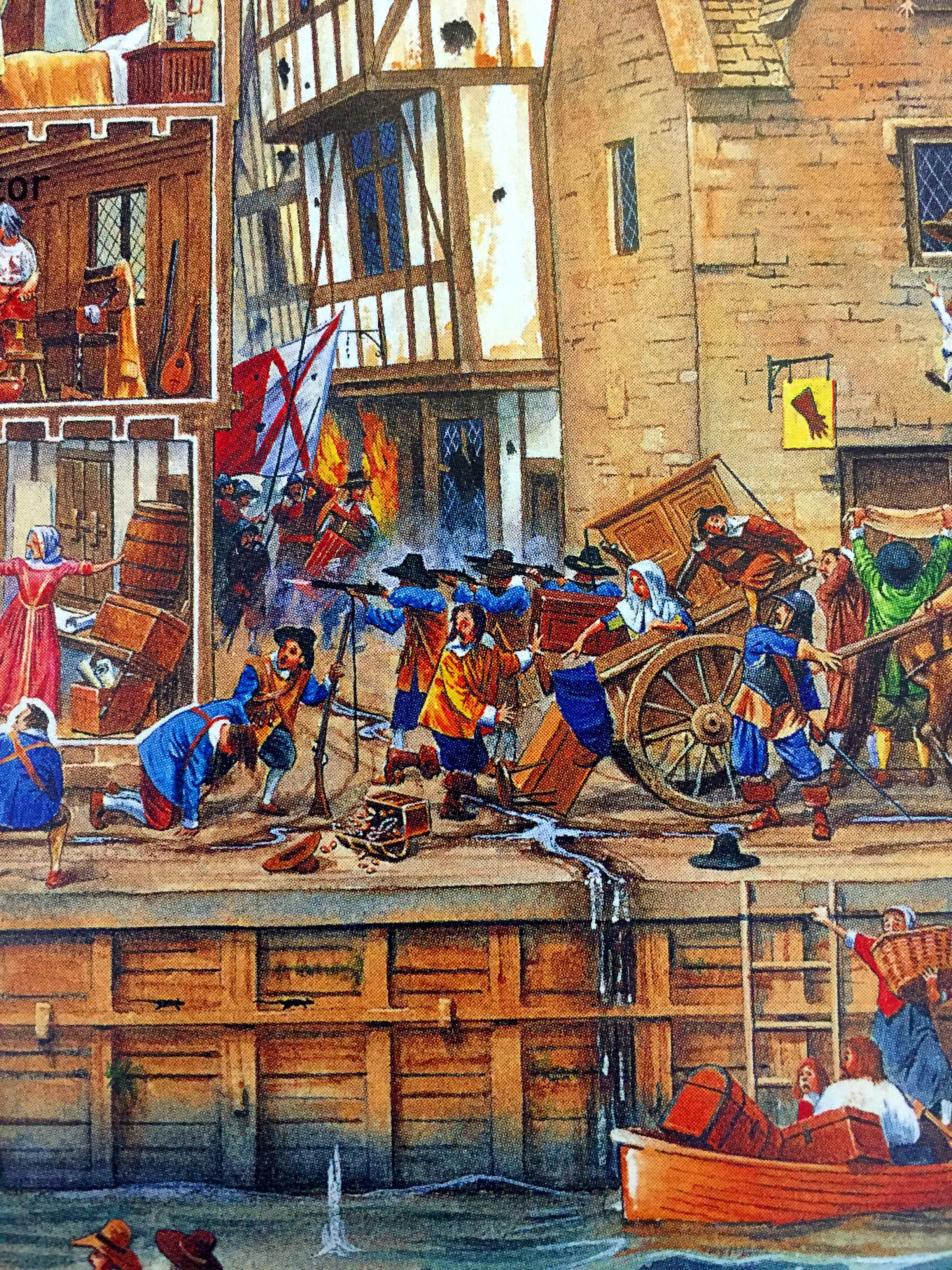 Street Fighting During The English Civil War By Steve