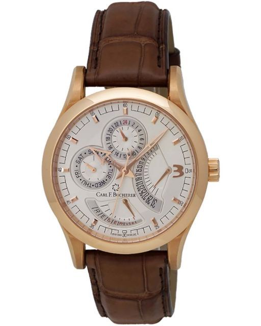d7917e93001 Carl F. Bucherer Manero 18K R G Retrograde Men s Watch – 00.10901.03.16