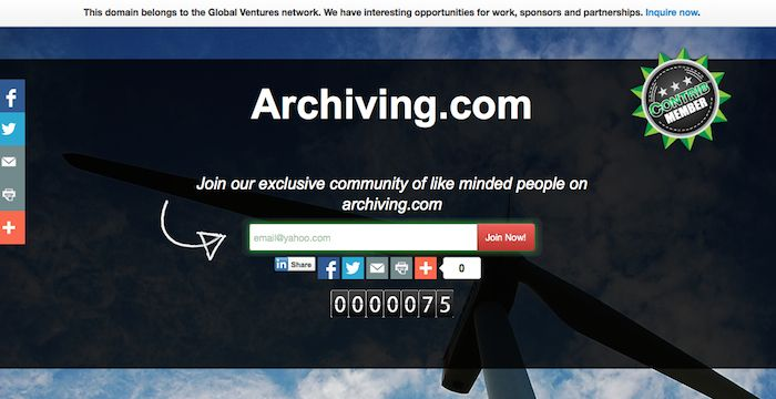 Archiving Email | Email Services | Login page, Archive